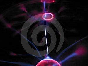 Plasma Lamp 3 Stock Photography