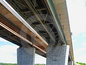 Highway Brige Free Stock Image