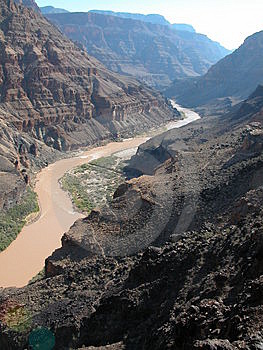 Muddy Colorado River Free Stock Image