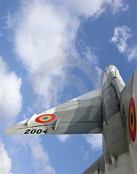 Avião da guerra do voo Imagem de Stock Royalty Free