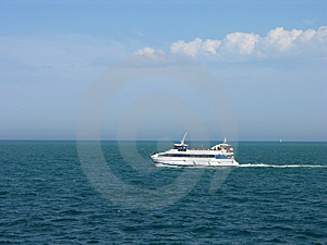 Super Boat Free Stock Photography