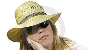 Взойдите на борт женщины Стоковое Изображение RF