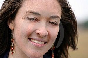 Beautiful Girl Smiling - Sally Free Stock Photo