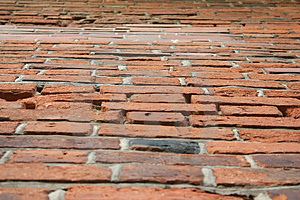 Perspecticve Brick Wall Stock Photos