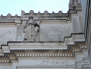 Architectural Detail Of Saint Paul Stock Images - Image: 1601984