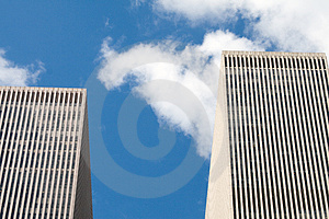 Modern Skyscrapers Royalty Free Stock Images - Image: 1602899