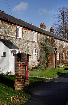 Row Of Terraced Cottages Royalty Free Stock Image - Image: 1607346