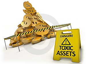 Toxic Assets Concept Royalty Free Stock Photography - Image: 16003807