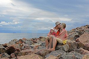 Family Sitting Stock Photos - Image: 16005503