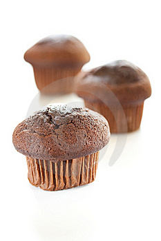 Tasty Chocolate Muffin Royalty Free Stock Image - Image: 16005786