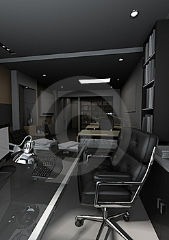 Moderen Office Stock Image - Image: 16006021