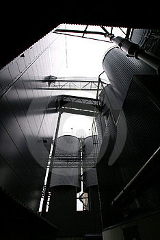 Industrial Concept Background Bw Stock Photo - Image: 16006760