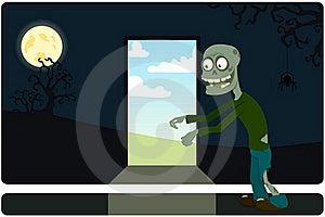 The Amusing Zombie Stock Photo - Image: 16006780