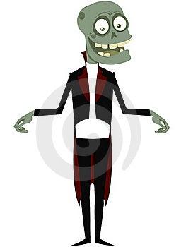 The Amusing Zombie Royalty Free Stock Image - Image: 16006846