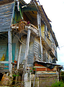 Old Ruined Building Royalty Free Stock Photography - Image: 16008647