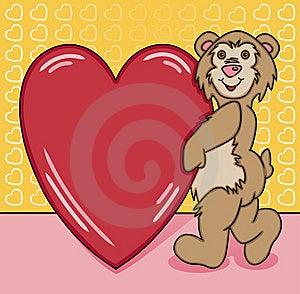 Bear Heart Too Stock Photography - Image: 16016872