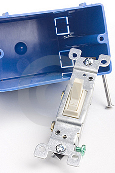 Switch Installation Royalty Free Stock Images - Image: 16016959