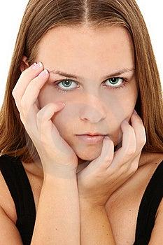 Beautiful 16 Teen Girl Royalty Free Stock Photography - Image: 16016997