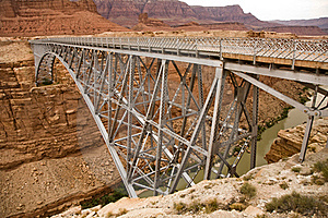 Bridge Over Marble Canyon Royalty Free Stock Photos - Image: 16018698