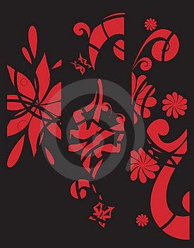 Floral Background Stock Image - Image: 16019361
