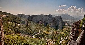The Meteora Range Stock Photos - Image: 16019423
