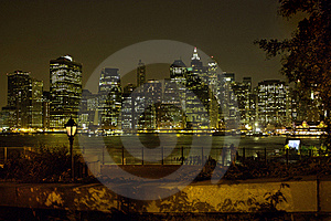 Brooklyn Heights View Of Manhattan New York USA Royalty Free Stock Images - Image: 16019699