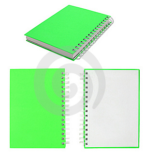 Blank Note Book For Write Anythings In It Royalty Free Stock Photo - Image: 16026295