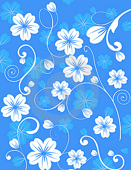 Floral Abstract Background Stock Photos - Image: 16028463