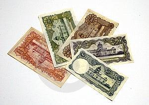 Older Thai Banknote Rama 9 Model 9 Stock Image - Image: 16028571