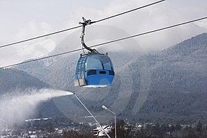 Cable Car Ski Lift Royalty Free Stock Photo - Image: 16029985