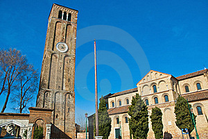 Santa Maria E Donato Church At Murano, Italy Stock Photos - Image: 16031203