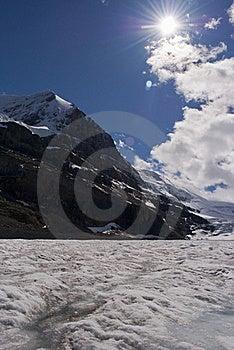 Columbia Icefield Stock Image - Image: 16037391