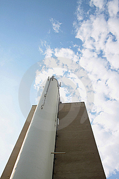 Chimney-stalk On The Building Stock Photos - Image: 16038323