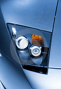 Head Lamp Royalty Free Stock Images - Image: 16039099