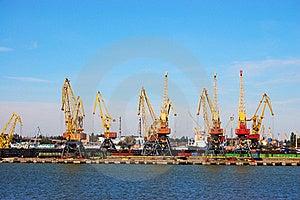 Mooring Of Trading Port Stock Photos - Image: 16039793