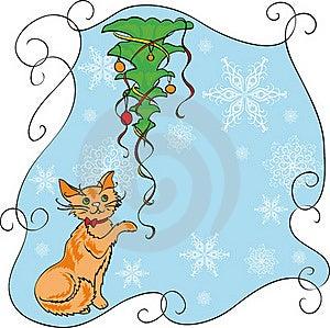 Gato E árvore Imagens de Stock Royalty Free - Imagem: 16043149