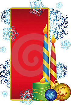 New Year Card Stock Photography - Image: 16043232