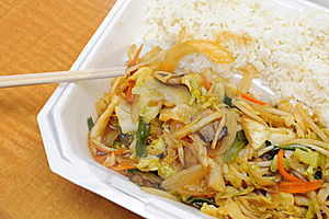 Healthy Asian Style Vegetable Set Meal Royalty Free Stock Photography - Image: 16044737