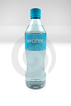 Water Bottle Royalty Free Stock Images - Image: 16044969
