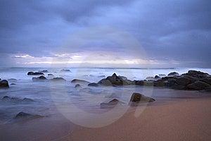 Smokey Waters Royalty Free Stock Image - Image: 16052306