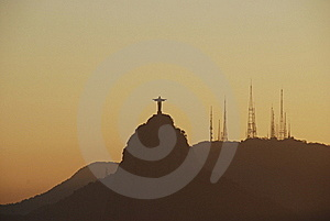 Christ The Redeemer In Rio De Janeiro, Brazil Royalty Free Stock Images - Image: 16054739