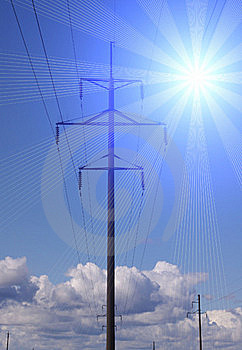 Transmission Of Electricity Stock Photography - Image: 16055652