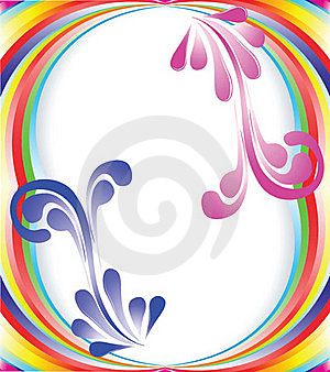 Multi-colored Rainbow Royalty Free Stock Photography - Image: 16062137