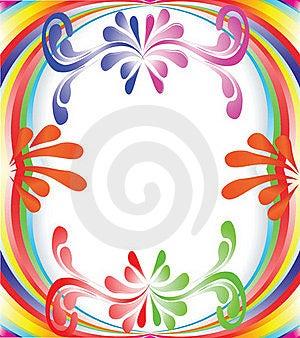 Multi-colored Rainbow Royalty Free Stock Image - Image: 16062146