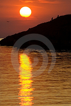 The Sunset Stock Photography - Image: 16062552