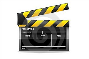 Isolated  Clapboard Stock Image - Image: 16068461