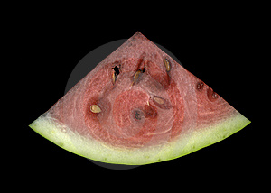 Slice Of Watermelon Royalty Free Stock Photography - Image: 16070907