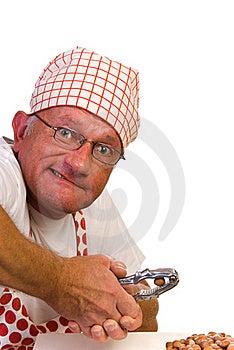 Hard Hazelnut Royalty Free Stock Photos - Image: 16071678