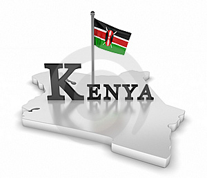 Kenya Tribute Stock Image - Image: 16071901