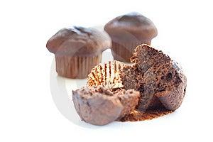 Tasty Chocolate Muffin Stock Image - Image: 16072091